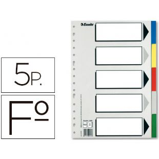 Separadores FOLIO 5 ESSELTE