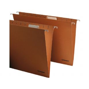 Carpeta colgante Folio Prolongado visor superior